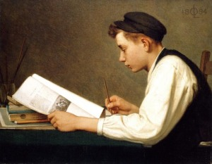 The-young-student-Ozias-Leduc