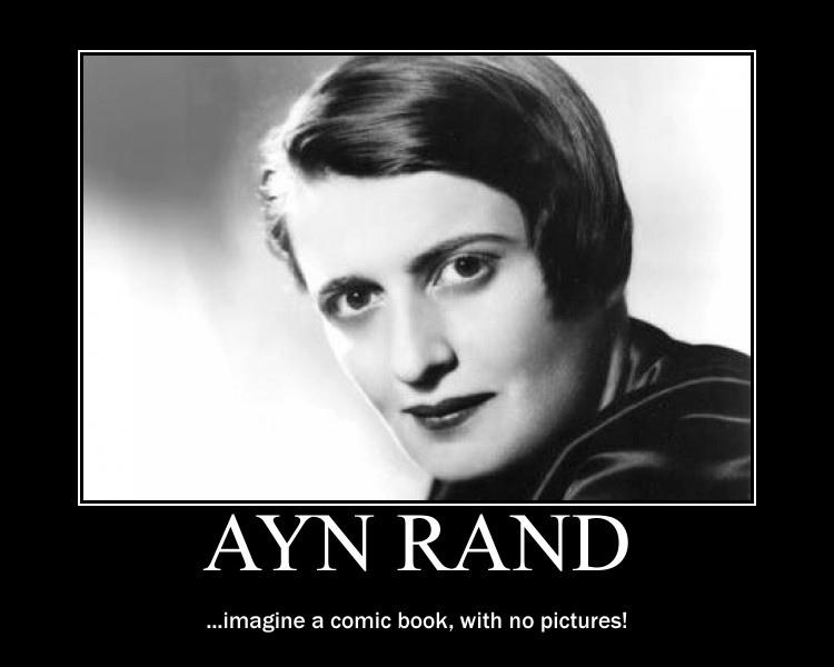 """""""Za intelektualno nemoč sodobne zahodne desnice (tudi slovenske, seveda) je simptomatično poveličevanje nekaterih v bistvu primitivnih libertarnih avtorjev, kot sta denimo Ayn Rand in Murray Rothbard."""""""