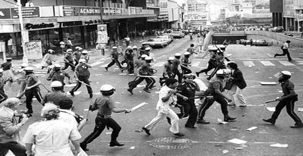 Caracazo: nasilni protesti l. 1989