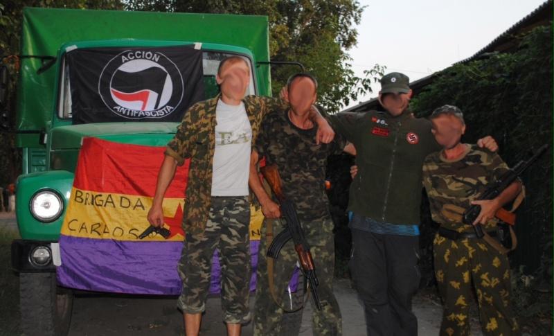 Španski prostovoljci iz Brigade Carlos Palomino
