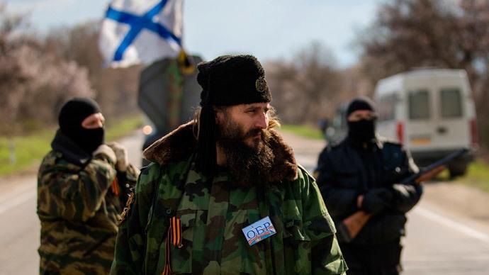 Milutin Mališić, eden od številnih pripadnikov srbskih četniških enot, ki se bojujejo v Donbasu